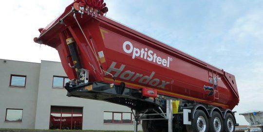 Fruehauf – bennes travaux publics – OptiSteel
