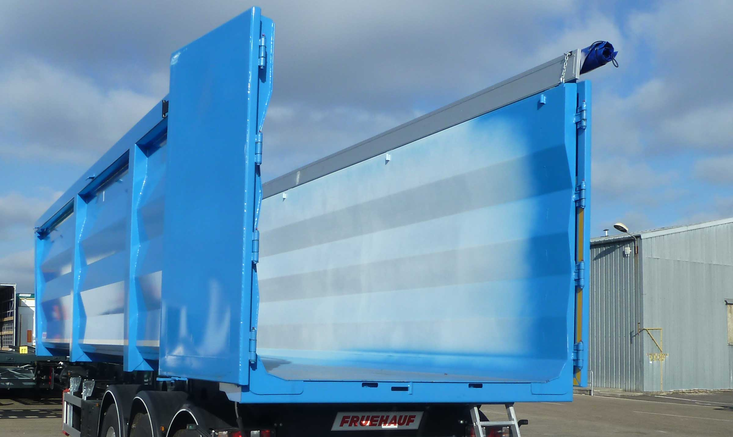 Fruehauf – bennes grand volume - Scrap